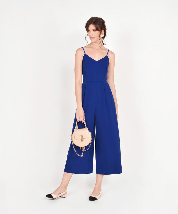 Ava Jumpsuit - Cobalt Blue