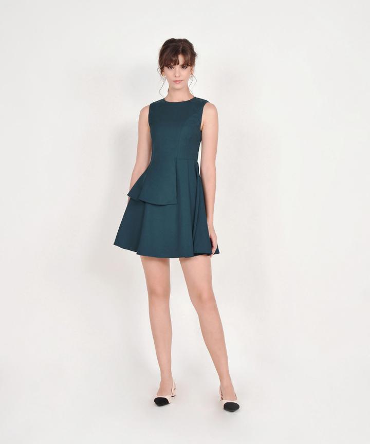 Guinevere Dress - Dark Teal