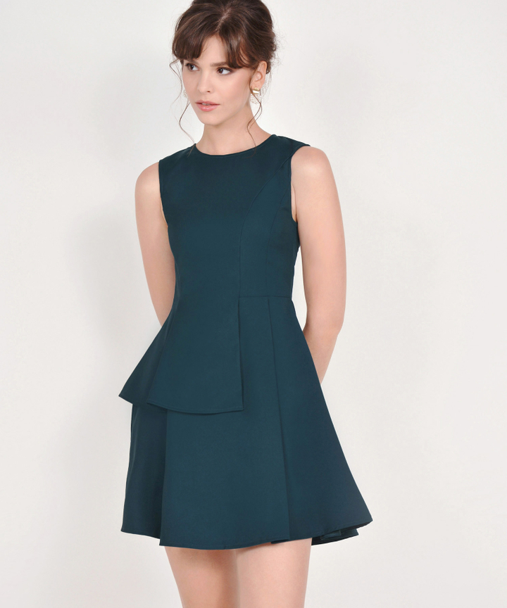 Guinevere Dress - Dark Teal