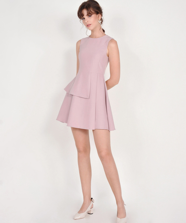 Guinevere Dress - Dust Pink