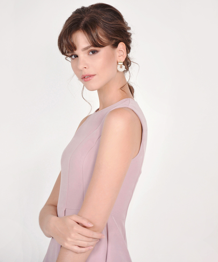 Vita Pearl Cluster Earrings