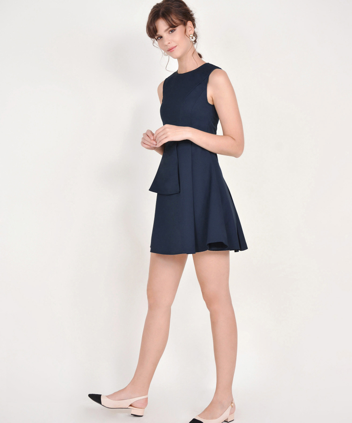 Guinevere Dress - Midnight Blue