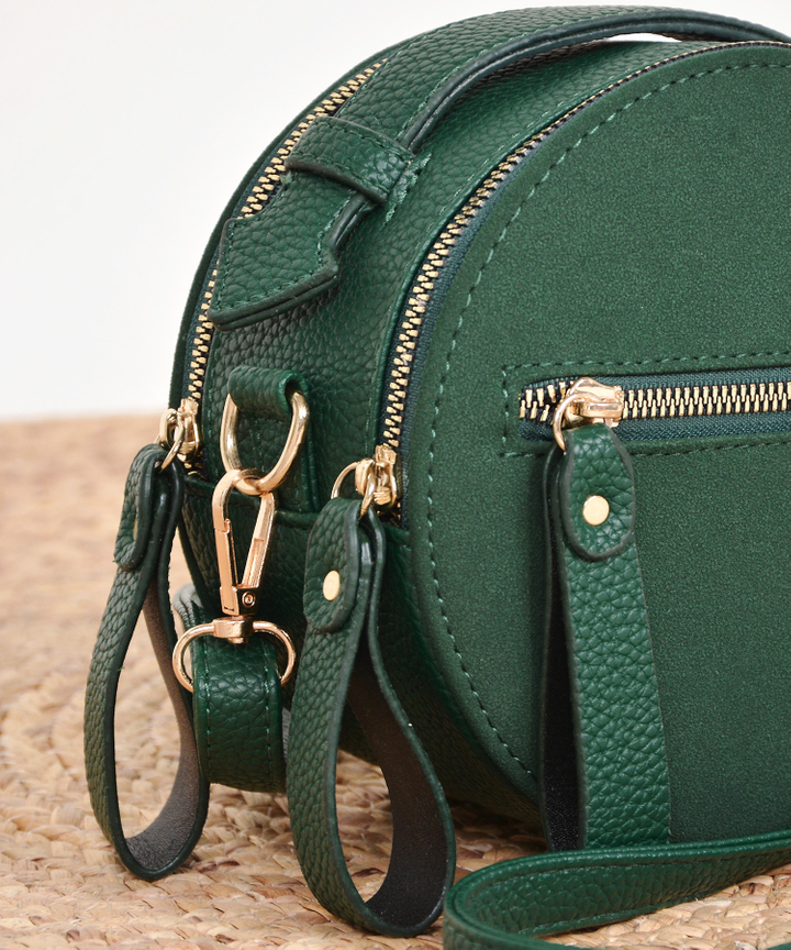 Solstice Circular Bag - Green