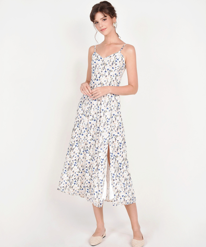 Anista Floral Maxi - White