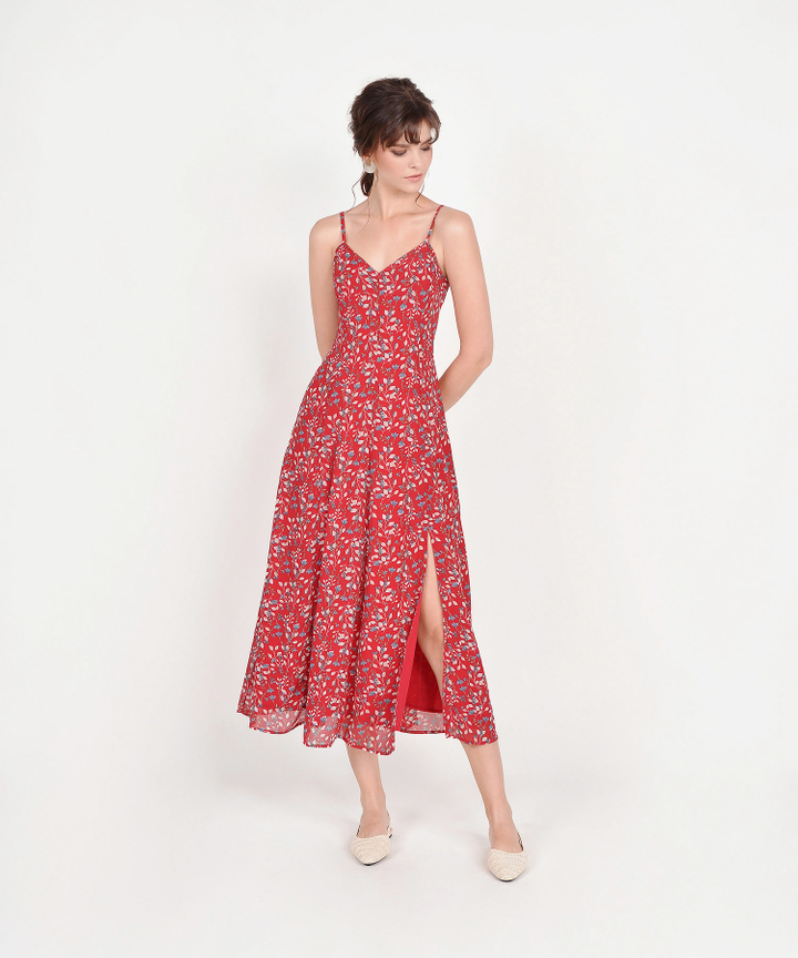 Anista Floral Maxi - Scarlet