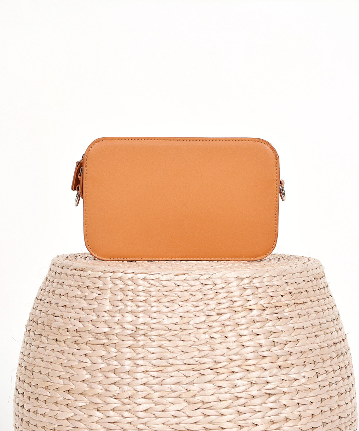 Halcyon Rectangular Box Bag - Ochre
