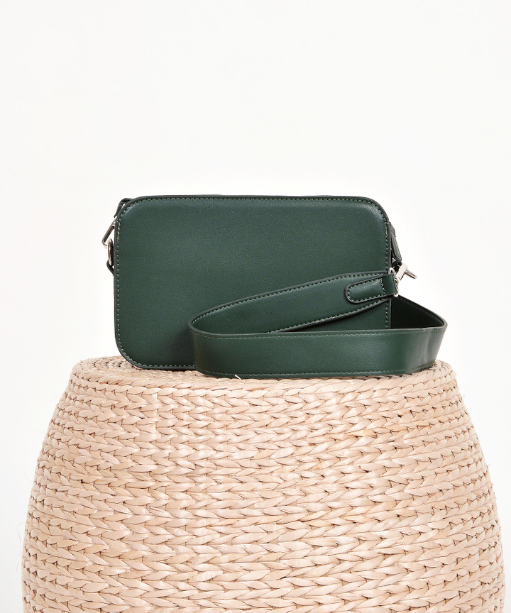 Halcyon Rectangular Box Bag - Hunter Green
