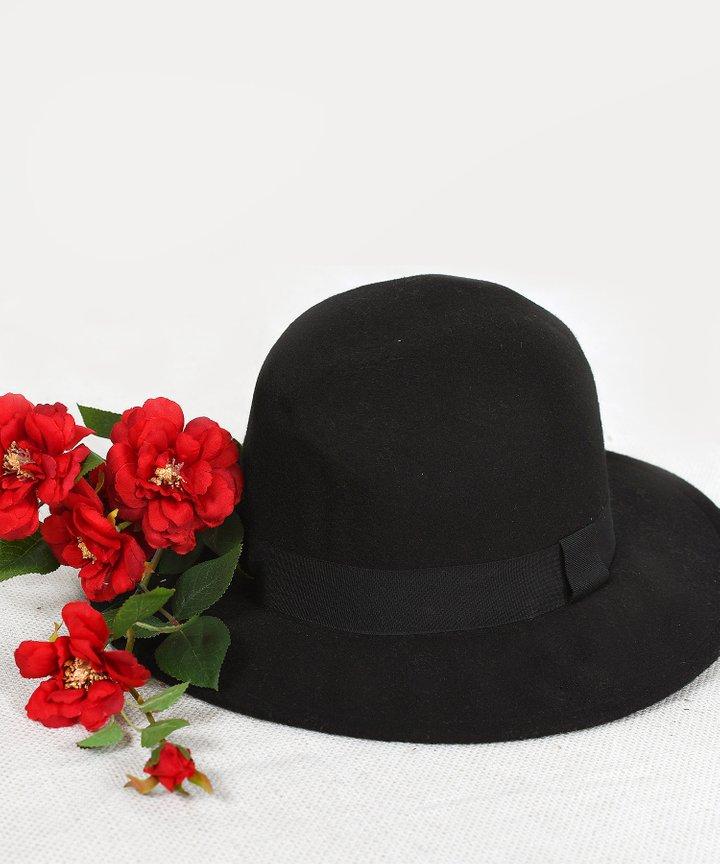 Pascal Panama Hat - Black