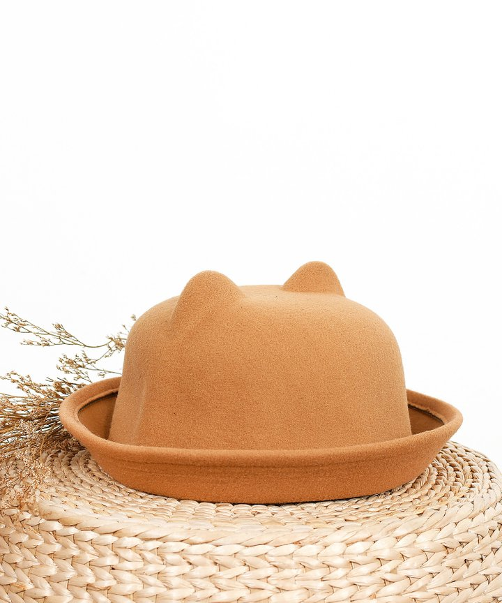Kirby Cloche Hat - Brown