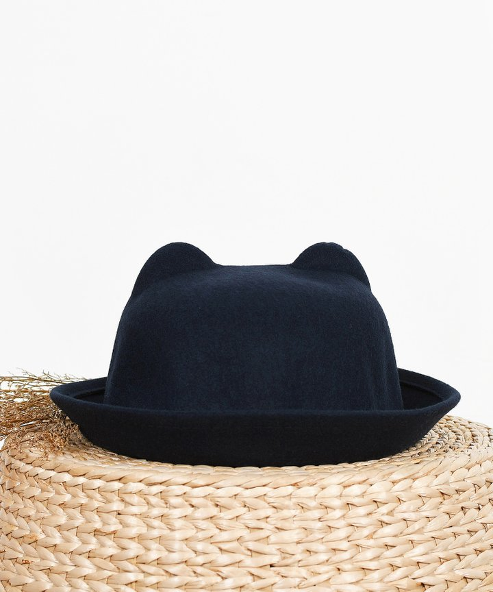 Kirby Cloche Hat - Navy