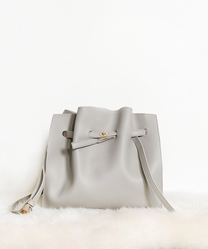 Castaner Shoulder Bag - Grey