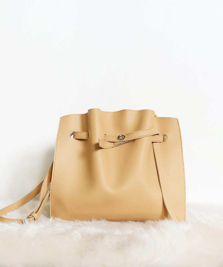 Castaner Shoulder Bag - Beige