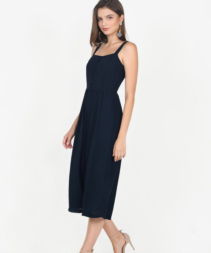 Keira Jumpsuit - Midnight Blue