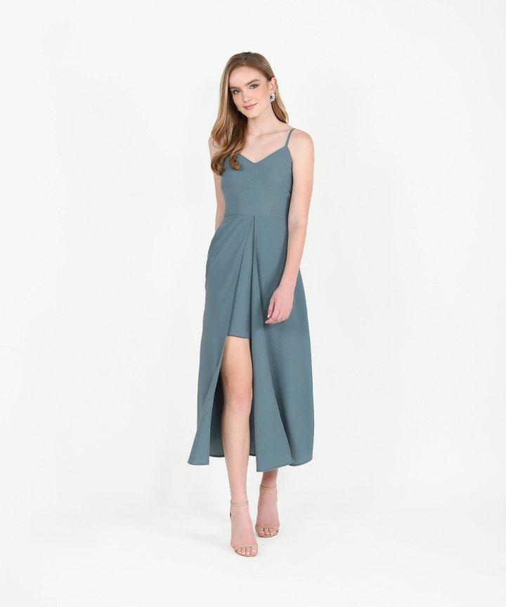 Harper Maxi - Dust Turquoise