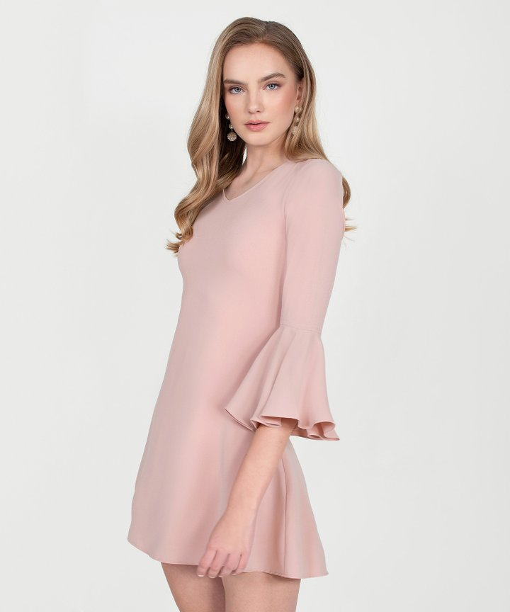 Orchid Classic Dress - Nude Pink