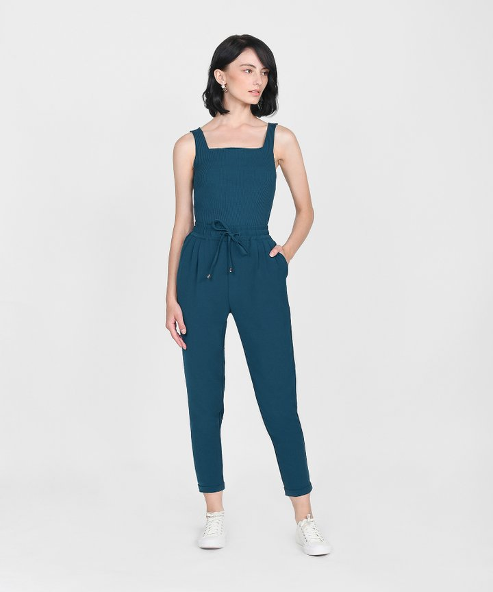 Ford Relaxed Trousers - Dark Teal
