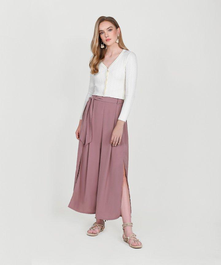 Aquila Trousers - Mauve Pink