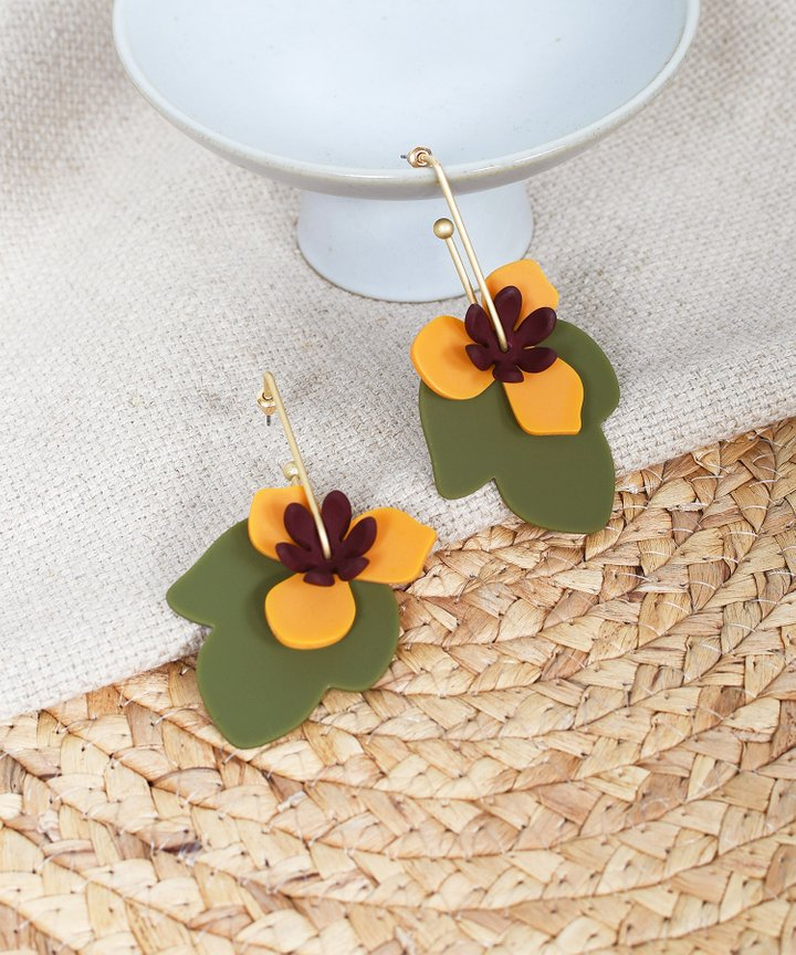 Blaise Floral Earrings