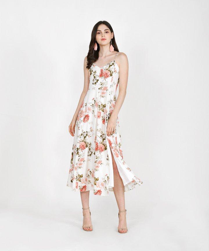 Tania Floral Maxi - Cream