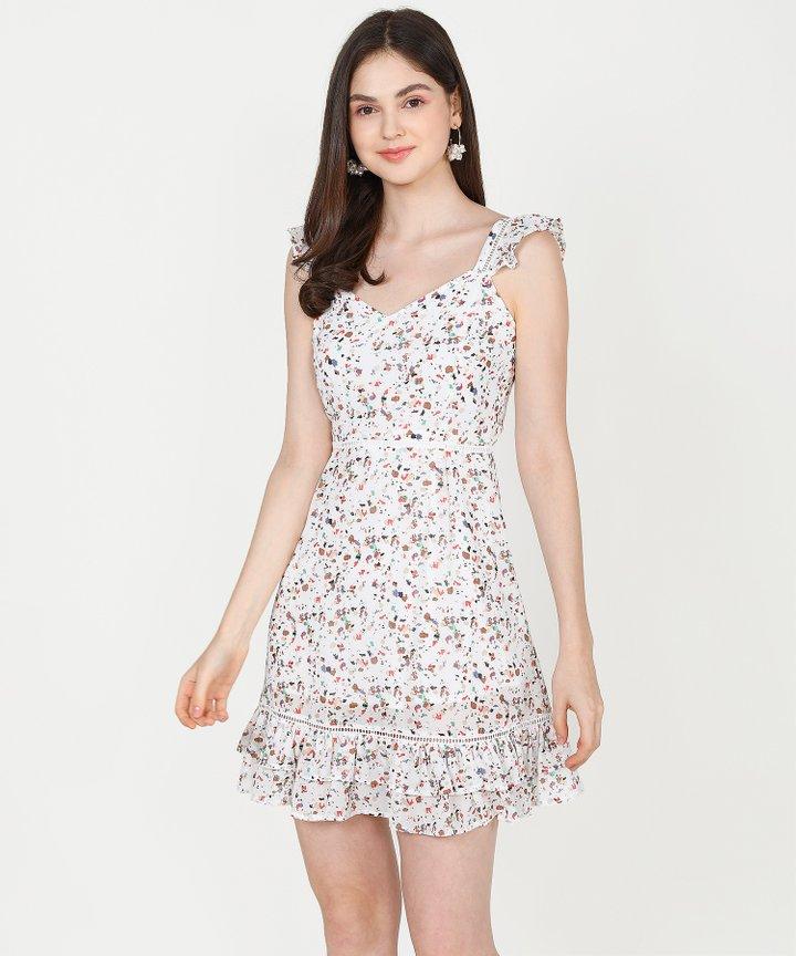 Althea Terrazzo Mini - White