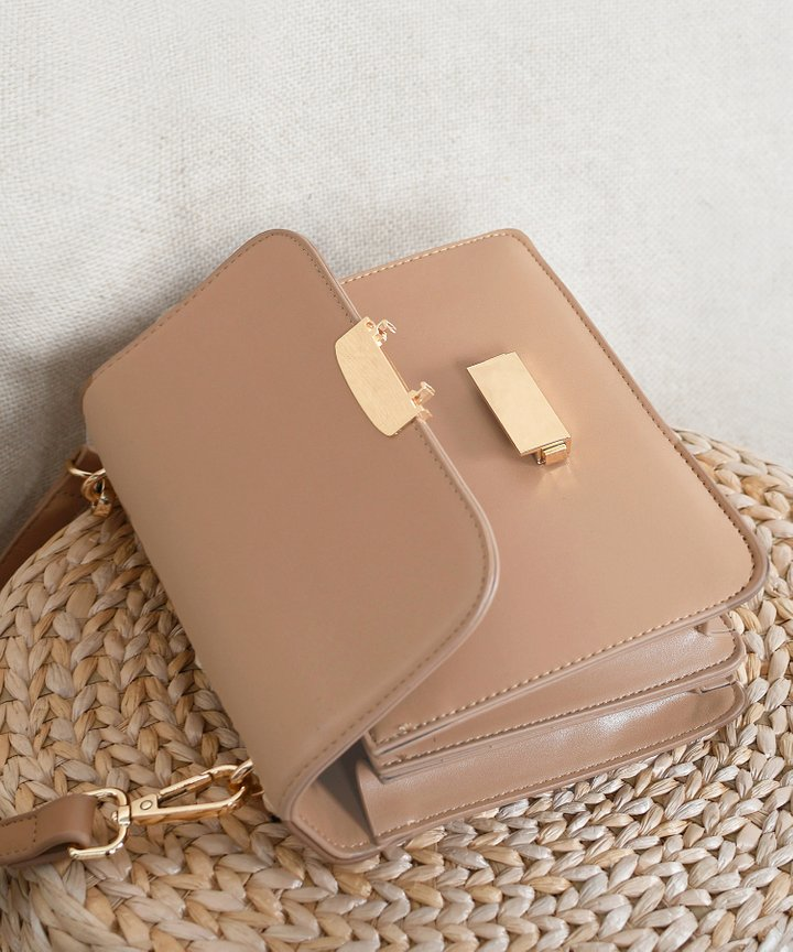 Eloise Shoulder Bag - Toffee