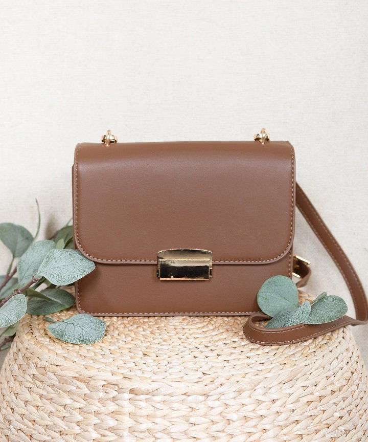Eloise Shoulder Bag - Mocha