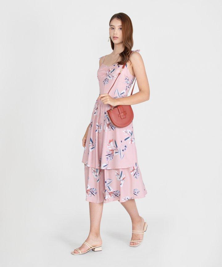 Kaia Floral Dress - Pink