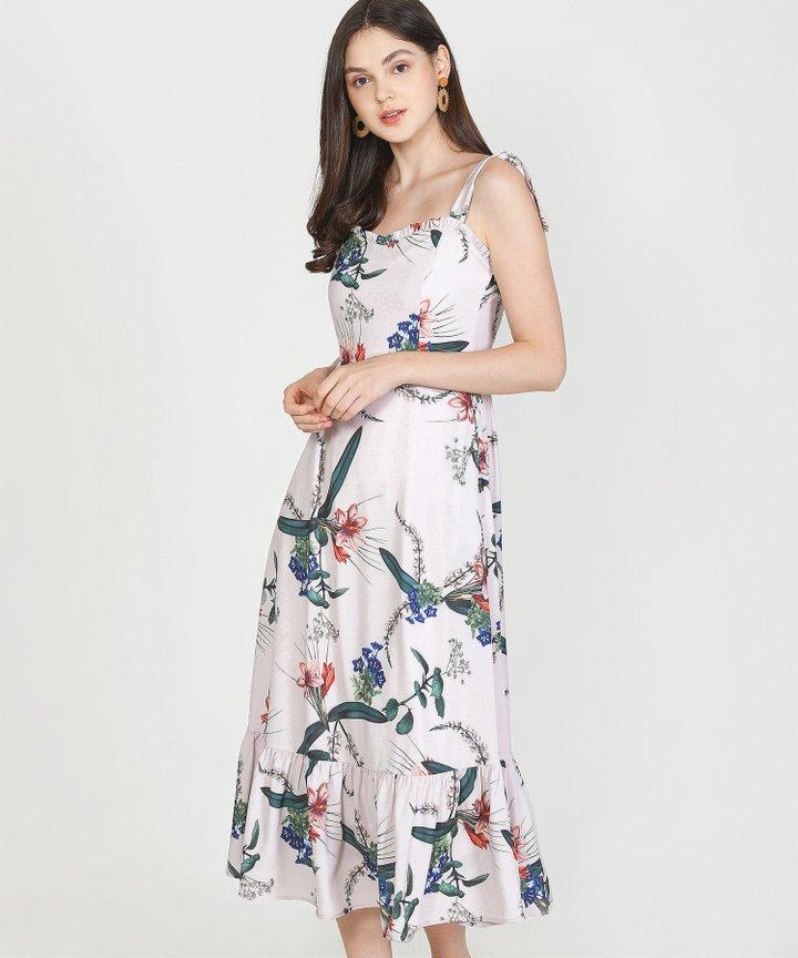 Reveries Floral Maxi - Pale Lavender
