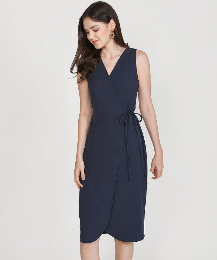 Matisse Overlay Midi - Midnight Blue
