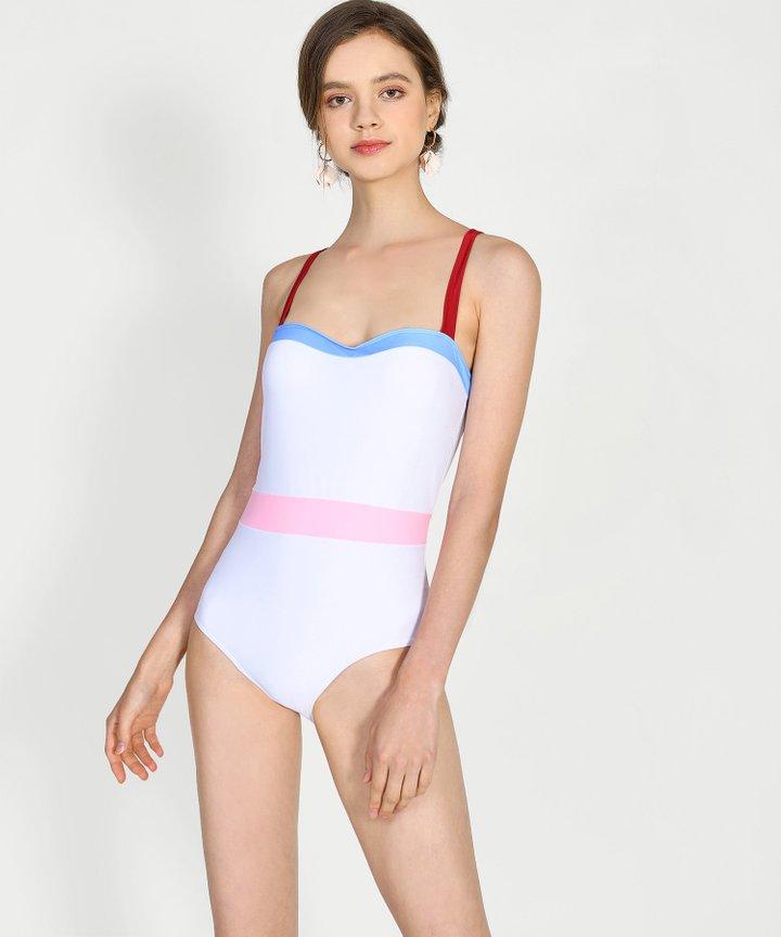 Teá Colourblock Swimsuit