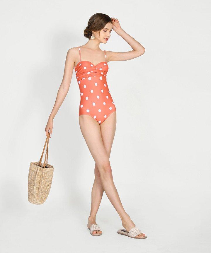 Sandbar Polka Dot Swimsuit