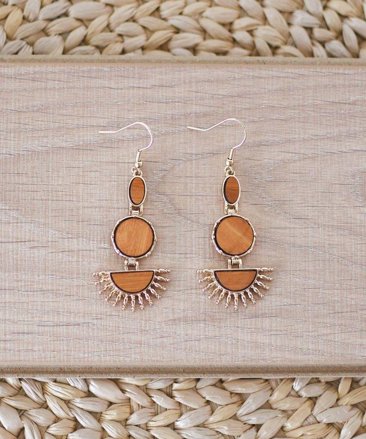 Foray Wood Earrings
