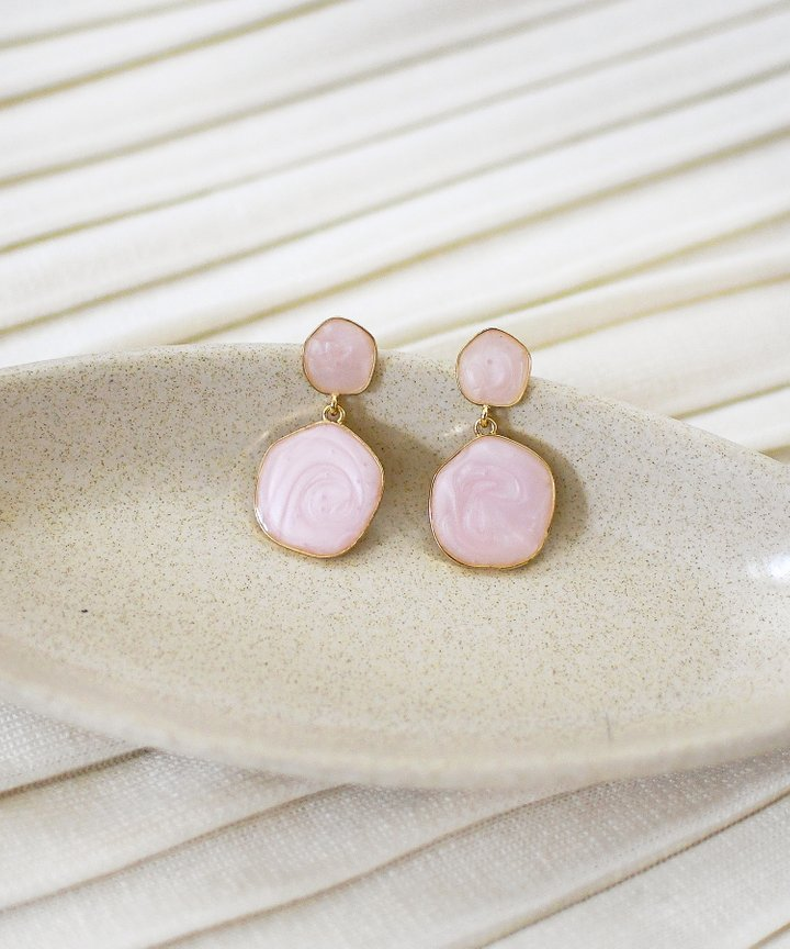 Panettiere Marble Earrings