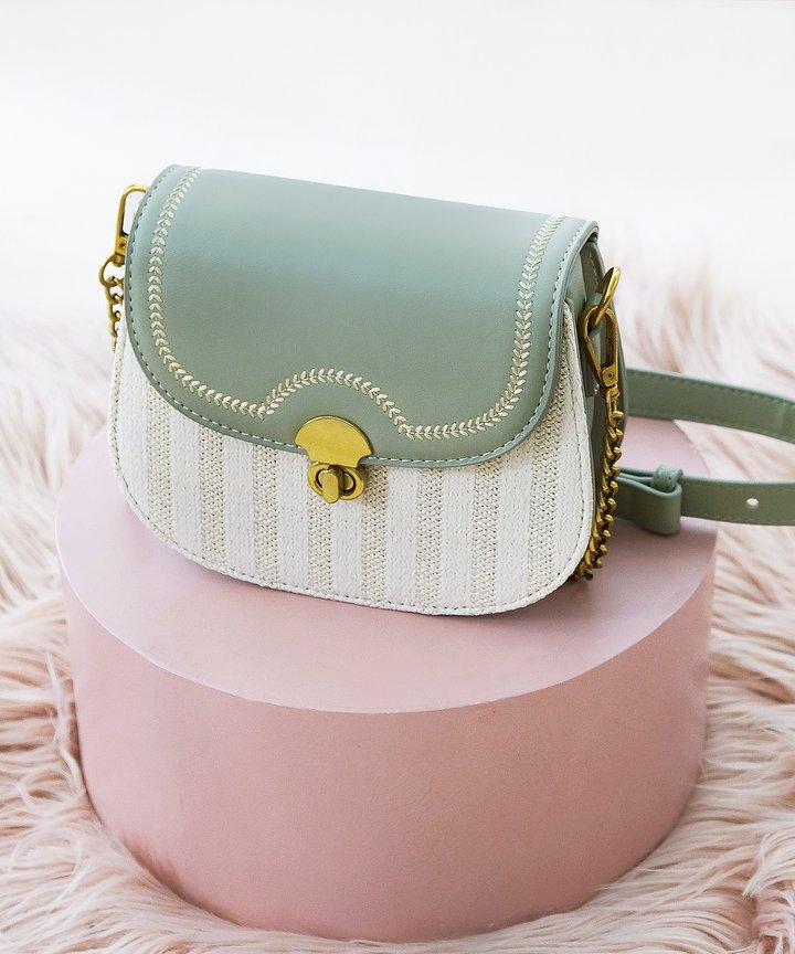Harper Woven Bag