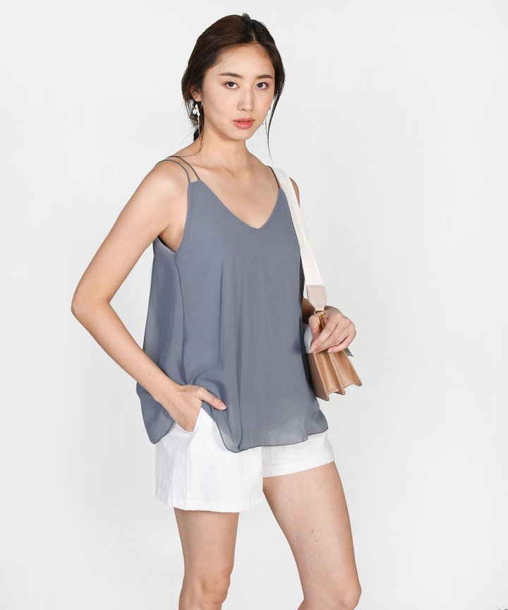 Andi Swing Camisole - Dust Blue