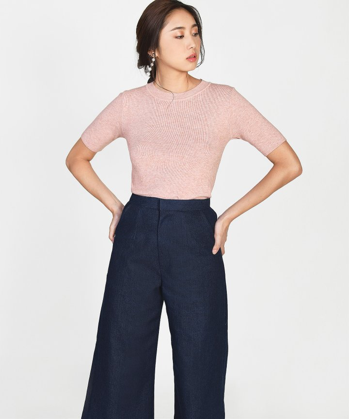 Killian Knit Top - Blush