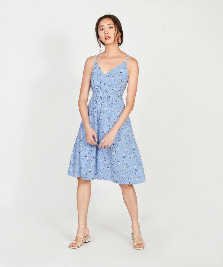 Halle Floral Wrap Dress