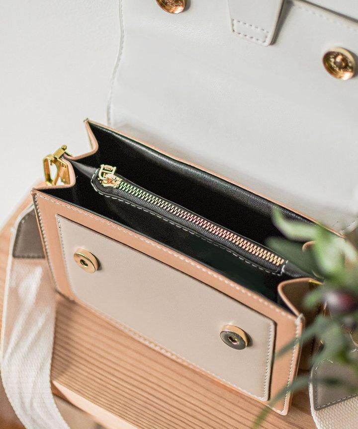 Kahlua Colourblock Bag - White