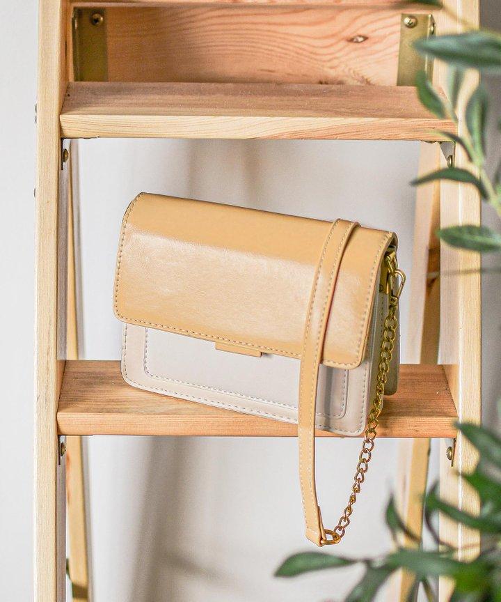 Kahlua Colourblock Bag - Mustard