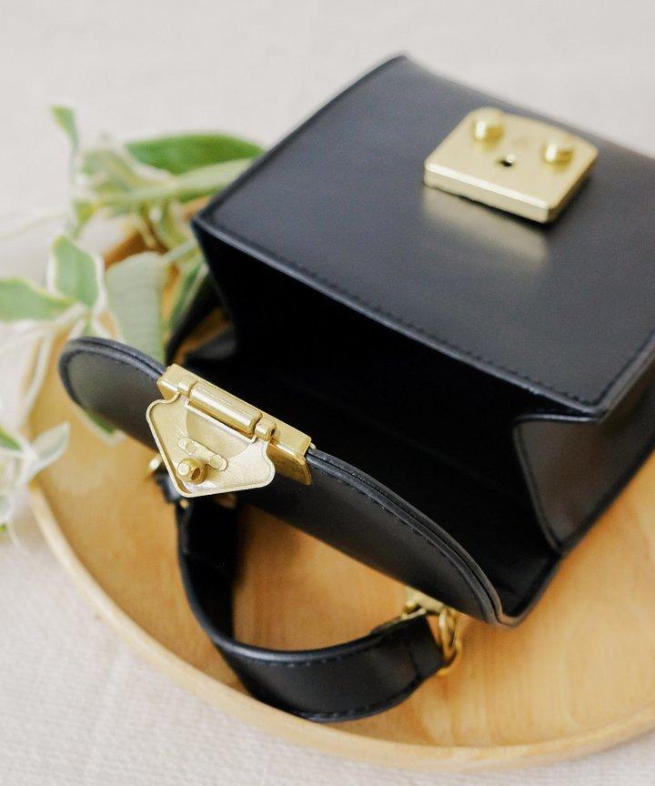 Ides Mini Satchel - Black