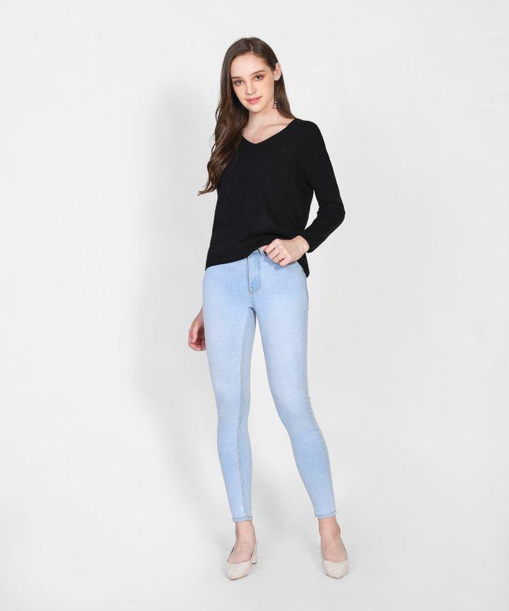 Caprice Knit Sweater - Black