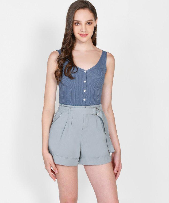 Iro Knit Camisole - Aegean Blue