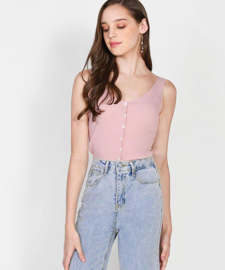 Iro Knit Camisole - Lemonade Pink