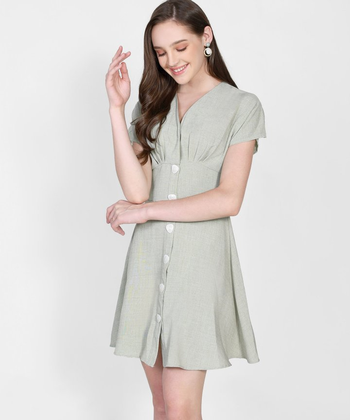 Jourdan Button Down Dress