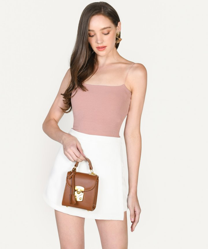 Ides Mini Satchel - Brown