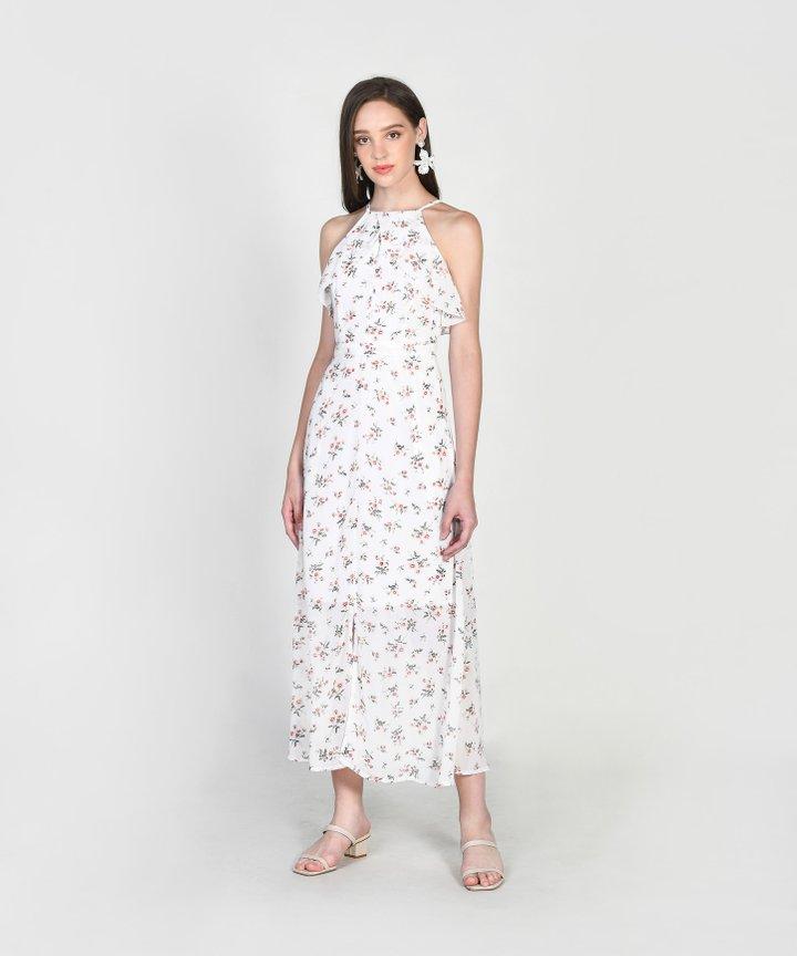 Gemmill Floral Maxi - White