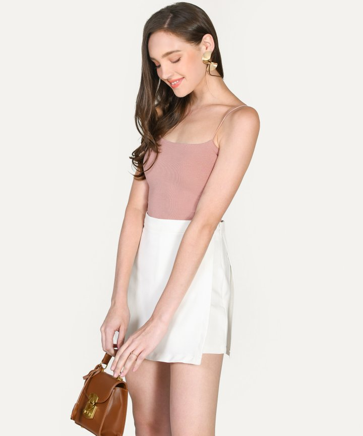 Jillian Knit Camisole - Blush (Backorder)