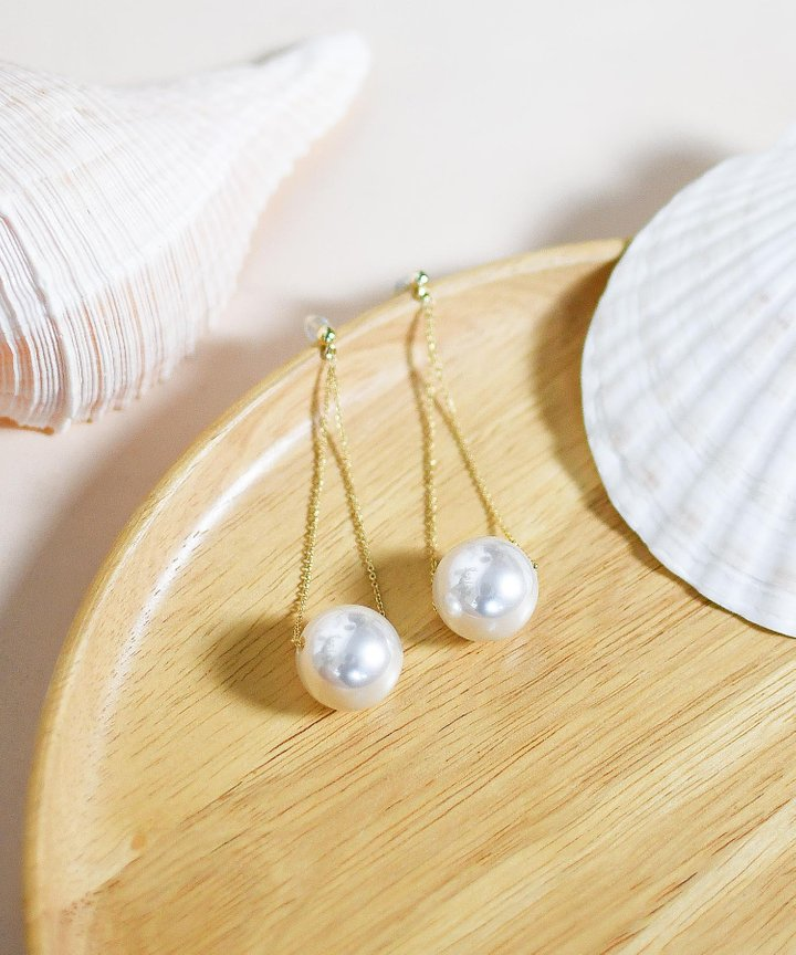 Pixie Pearl Drop Earrings