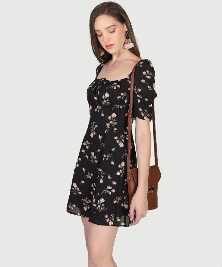 Sierra Floral Dress - L (Instock)
