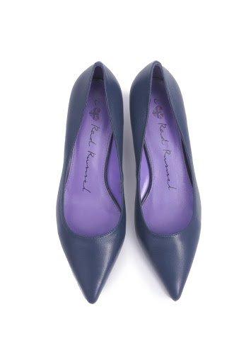 Classic Kitten Heels - Blue